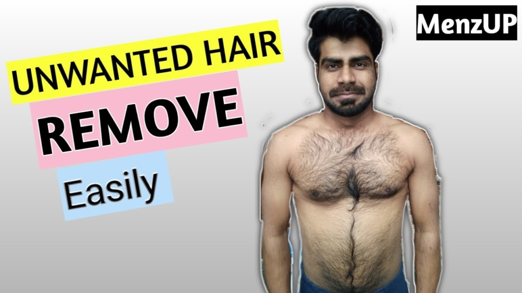 How To Remove Unwanted Hairs For Men Veet Men Hair Removal Cream